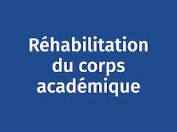 Rhéabilitation du corps académique